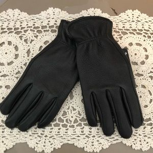 Genuine Deerskin Leather Gloves NWT